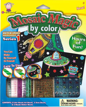 Mosaic Magic By Color