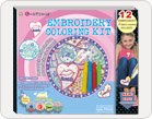 Embroidery Coloring Kit