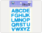 Letters Foam Stickers-TZ-20022