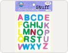 Letters Foam Stickers-TZ-20023