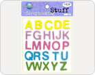 Letters Foam Stickers-TZ-20024