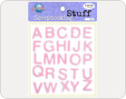Letters Foam Stickers-TZ-20025