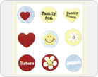 Fabric Stickers-TZ-SB0007