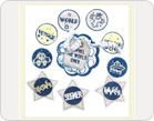 Fabric Stickers-TZ-SB0008