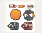 Fabric Stickers-TZ-SB0009