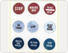 Fabric Stickers-TZ-SB0016